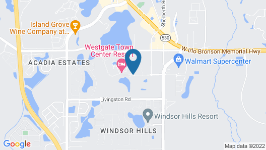 Westgate Resorts Map