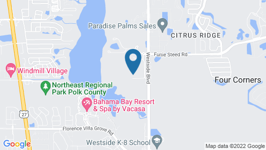 Kissimmee Maingate Area Pool Homes by SVV Map