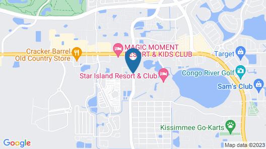 Legacy Vacation Resorts-Orlando Map