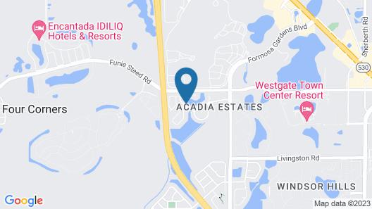 Oak Island Harbour 2833 - Four Bedroom Villa Map