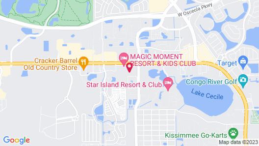 Comfort Inn Kissimmee-Lake Buena Vista South Map
