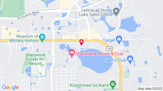 Quality Inn & Suites Eastgate Map