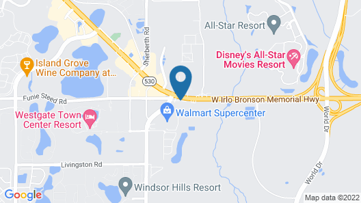 Ramada by Wyndham Kissimmee Gateway Map