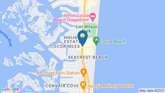 The Resort on Cocoa Beach, a VRI resort Map