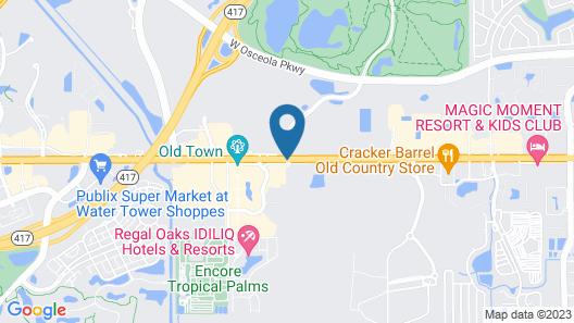 Seralago Hotel & Suites Main Gate East Map