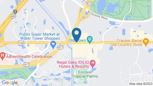 Staybridge Suites Orlando Royale Parc Suites Map
