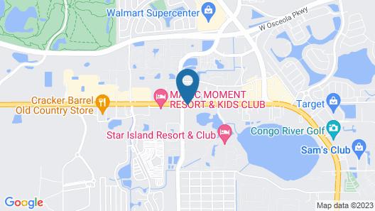 Red Lion Hotel Orlando Lake Buena Vista South Map