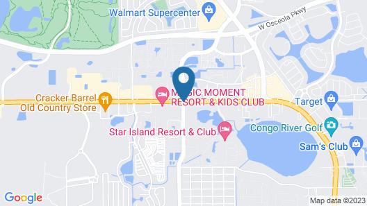 Vacation USA LTD Map