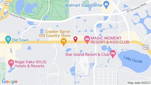 Sherwood Forest RV Resort Map