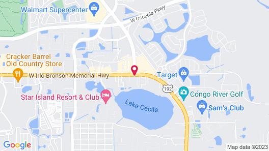 Golden Link Resort Motel Map