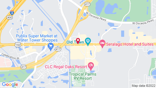 Super 8 by Wyndham Kissimmee/Maingate/Orlando Area Map