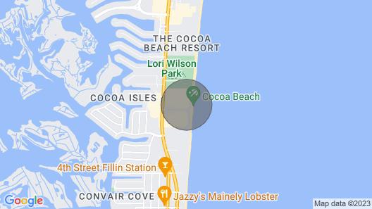 Blue Marlin - Oceanfront Condo Map