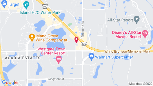 Quality Inn & Suites By the Parks Map