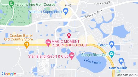 Fantasy World Resort Map
