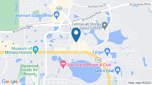 Embassy Suites by Hilton Orlando Lake Buena Vista South Map