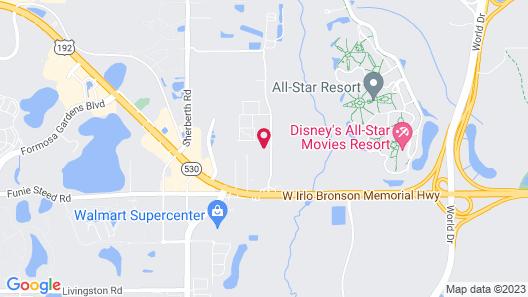 Hawthorn Suites by Wyndham Kissimmee Gateway Map
