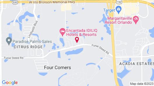 3012 Encantada Resort Orlando 43528/43580 Map