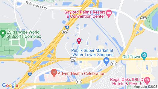 Parkway International Resort by Diamond Resorts Map