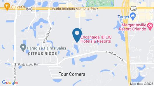 Encantada Resort Map
