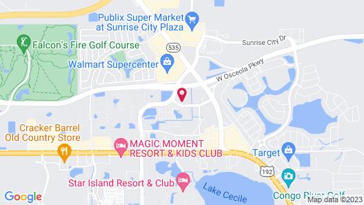 Holiday Inn Express & Suites Orlando-South Lake Buena Vista, an IHG Hotel Map