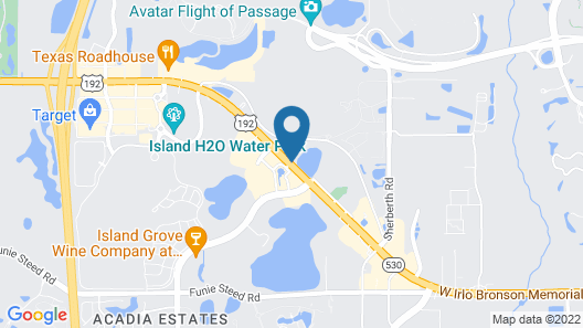 Quality Inn & Suites Kissimmee by The Lake Map