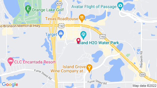 Margaritaville Resort Orlando Map