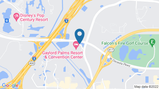 Gaylord Palms Resort & Convention Center Map