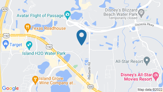 Silver Lake Resort Map