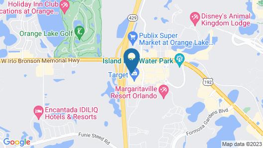 Ocean Florida Villas Map