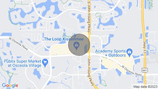 Solara Resort - 9031 Sunshine Ridge Loop Map