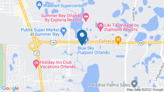 Quality Inn Clermont West Kissimmee Map