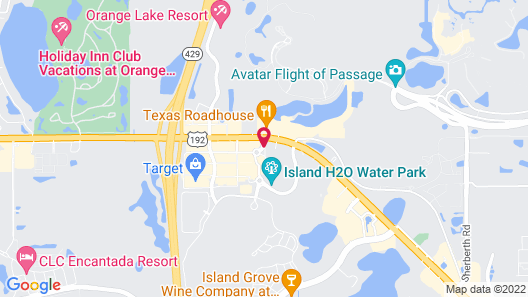 Margaritaville Resort Orlando Cottages by Rentyl Map