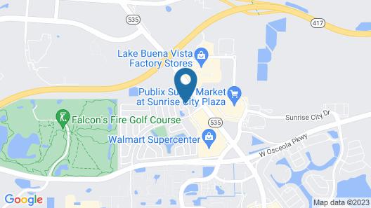 Best Western Plus Kissimmee-Lake Buena Vista South Inn & Suites Map