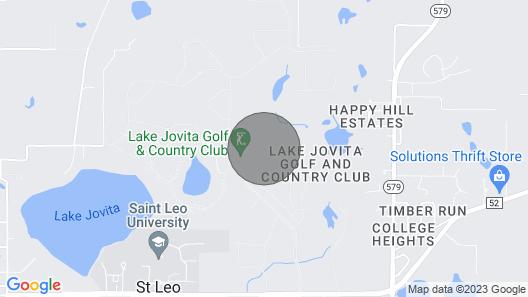 Golf Villa at Lake Jovita Golf & County Club Map