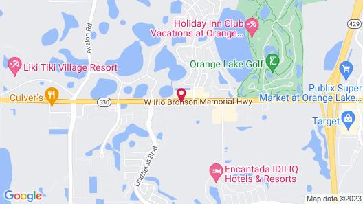 Champions World Resort Map