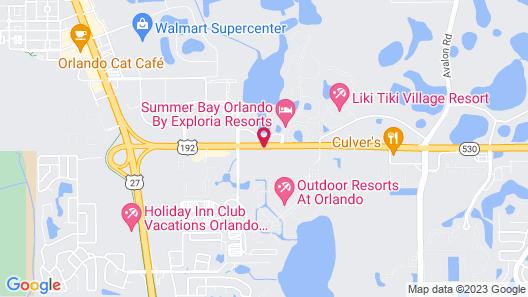 Serena Inn Map