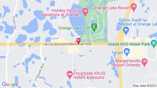 Destiny Palms Hotel Maingate West Map