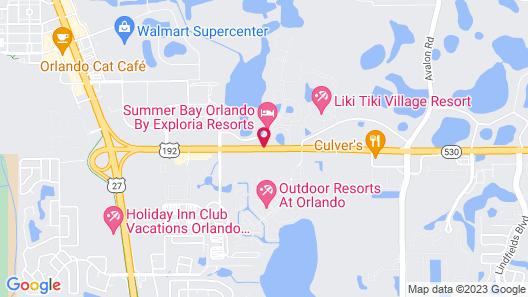 Summer Bay Orlando by Exploria Resorts Map