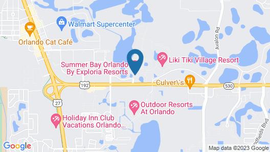Exploria Express by Exploria Resorts Map