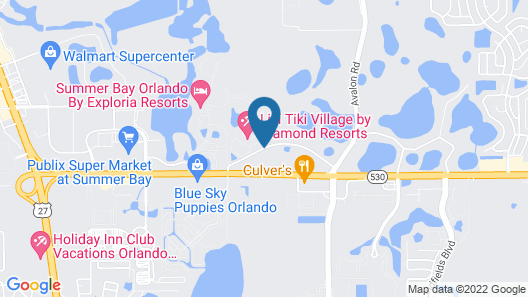 Liki Tiki Village by Diamond Resorts Map