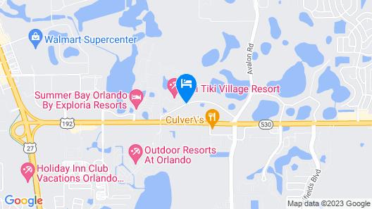 Liki Tiki Village by Diamond Resorts Map