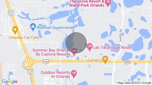 1 Bedroom Condo in Summer Bay Resort - Orlando - Sleeps 4 From 3/7/20 to 3/14/20 Map