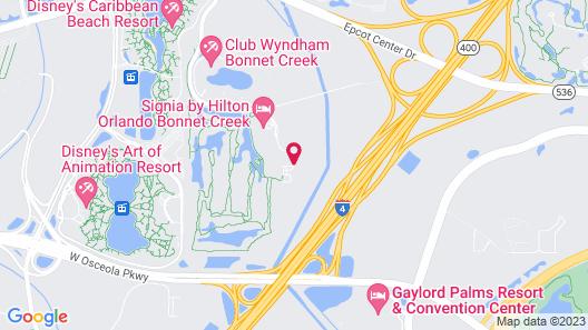 Waldorf Astoria Orlando Map