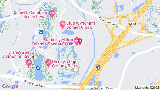 Signia by Hilton Orlando Bonnet Creek Map