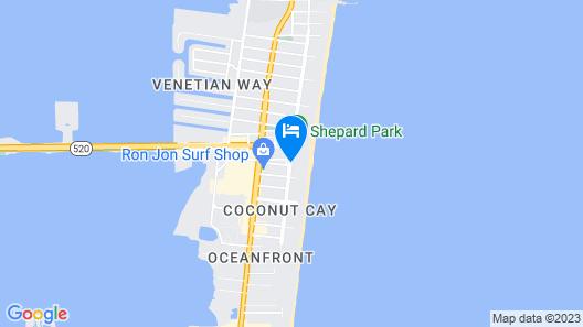 The Inn at Cocoa Beach Map