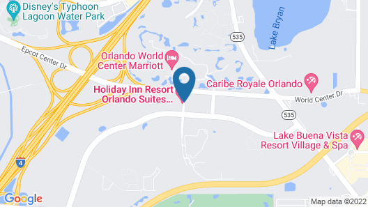 Holiday Inn Resort Orlando Suites - Waterpark Map