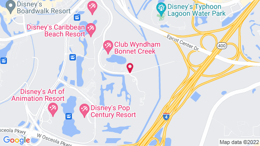 Wyndham Grand Orlando Resort Bonnet Creek Map
