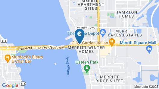 Aladdin Motel Map