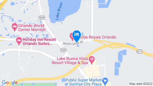 Caribe Royale Orlando Map