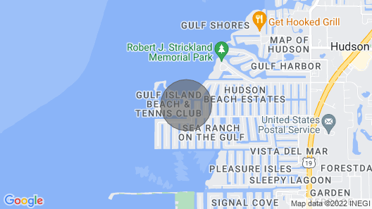 Hudson Resort Condo w/Private Beach & 2 Balconies! Map